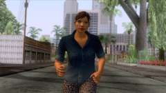 GTA 5 - Female Skin v1 para GTA San Andreas
