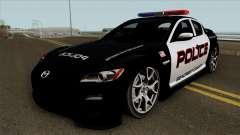 Mazda RX-8 Police SCPD 2011 para GTA San Andreas