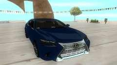 Lexus GS350 2018 para GTA San Andreas
