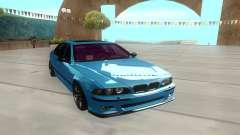 BMW M5 E39 azure para GTA San Andreas