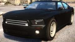 FBI Buffalo to Dodge Charger SRT8 v2 para GTA 4