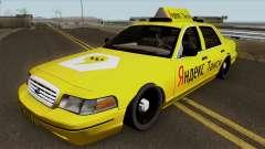 "Ford Crown Victoria ""Taxi Yandex"" para GTA San Andreas"