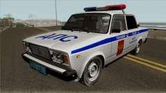 VAZ-2107 de la Policía de la ciudad de Yaroslavl para GTA San Andreas