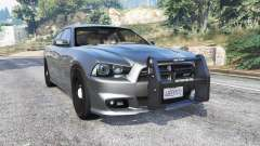 Dodge Charger SRT8 (LD) Police v1.2 [replace] para GTA 5