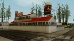Montgomery A&W Root Beer Factory para GTA San Andreas