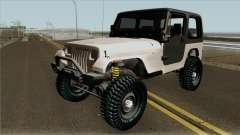 Jeep Wrangler Rustico para GTA San Andreas