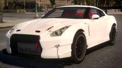 Nissan GTR 2017 Hamann para GTA 4