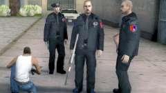 Cantón De Sarajevo, Agentes De La Policía Pack para GTA San Andreas