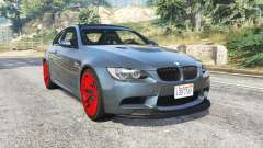 BMW M3 GTS (E92) 2010 real taillight [add-on] para GTA 5