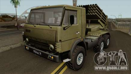 KamAZ-5410 BM-21 Grad para GTA San Andreas