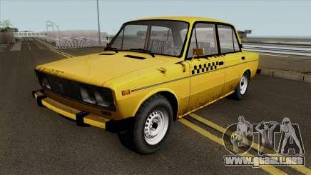 VAZ 2106 SA Style Taxi para GTA San Andreas