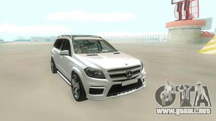 Mercedes-Benz GL63 para GTA San Andreas