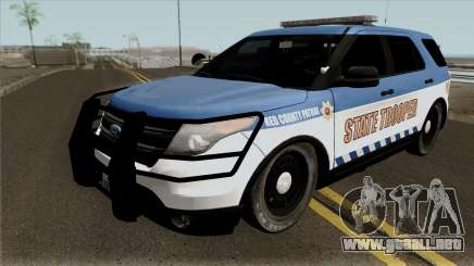 Ford Explorer 2016 Red County Police para GTA San Andreas