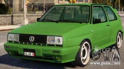 Volkswagen Golf Rallye G60 1990 para GTA 4