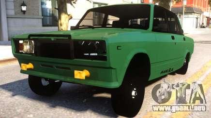 VAZ 2107 Avara Style para GTA 4