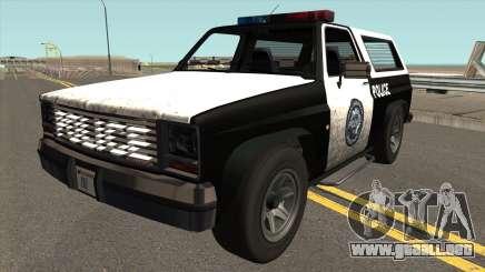 Declasse Rancher Police para GTA San Andreas