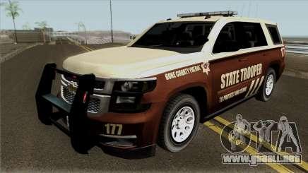 Chevrolet Tahoe 2015 Bone County Police para GTA San Andreas