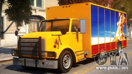 GTA IV LKW Mod Benson para GTA 4