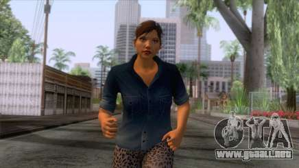GTA 5 - Female Skin v1 para GTA San Andreas
