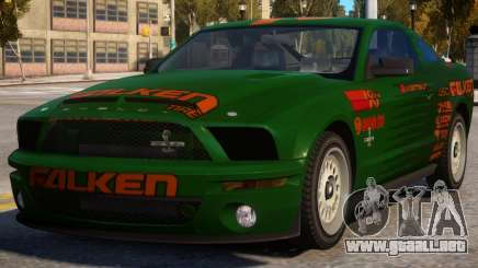 Ford Mustang Falken para GTA 4