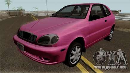 Daewoo Lanos Hatchback 1.6 16V 2001 (US-Spec) para GTA San Andreas
