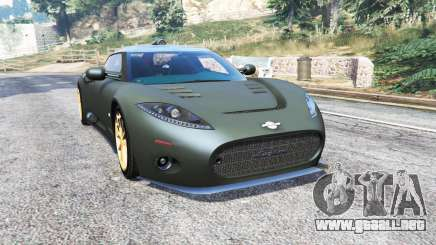 Spyker C8 Aileron 2009 [add-on] para GTA 5