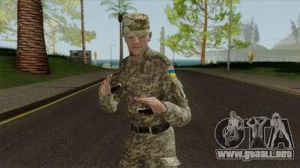 Un Oficial De Las Fuerzas Armadas De Ucrania para GTA San Andreas