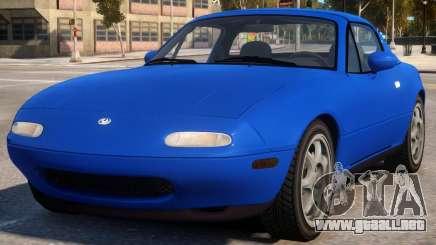 1997 Mazda Miata MX-5 V2 para GTA 4