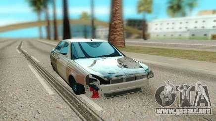 Lada Priora Broken para GTA San Andreas