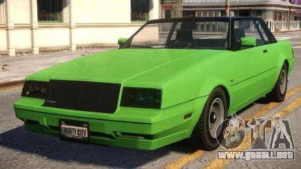 Faction to Buick Regal 80 para GTA 4