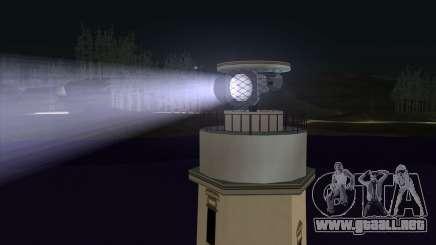 Searchlights para GTA San Andreas