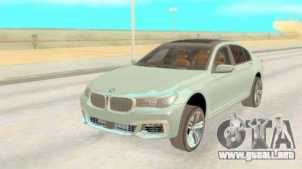 BMW 760li Xdrive para GTA San Andreas