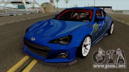 Subaru BRZ LM Race Car para GTA San Andreas