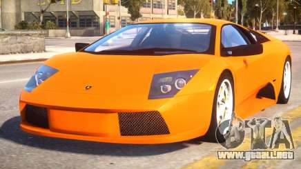 Lamborghini Murcielago 2005 v1.1 para GTA 4