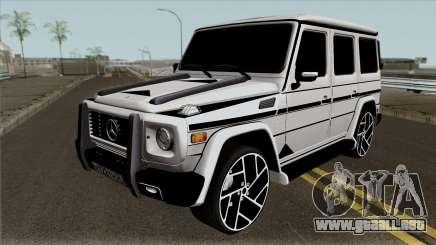 "Mercedes-Benz G65 ""Bandido"" para GTA San Andreas"