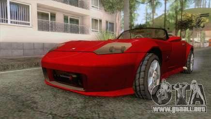 Dodge Viper Cabrio para GTA San Andreas