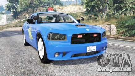 Dodge Charger Michigan State Police [replace] para GTA 5