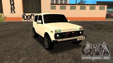 Niva Dorjar Armenian para GTA San Andreas