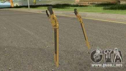 Gold Winchester M1887 para GTA San Andreas