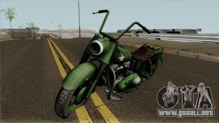 Motorcycle Game Ride To Hell - Retribution para GTA San Andreas