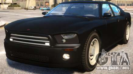 FBI Buffalo to Dodge Charger SRT8 v2 para GTA 4