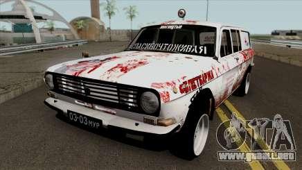 GAZ 24-12 Volga Militares Clásicos para GTA San Andreas