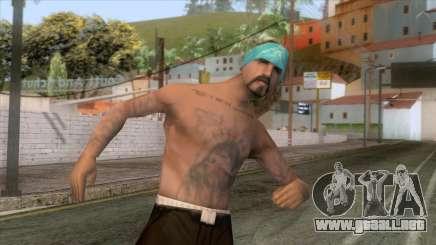 Crips & Bloods Vla Skin 1 para GTA San Andreas