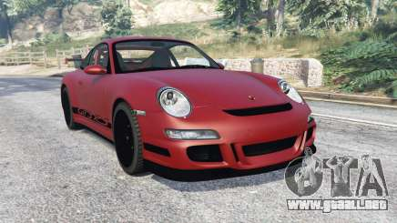 Porsche 911 GT3 RS (997) 2007 v1.1 [replace] para GTA 5