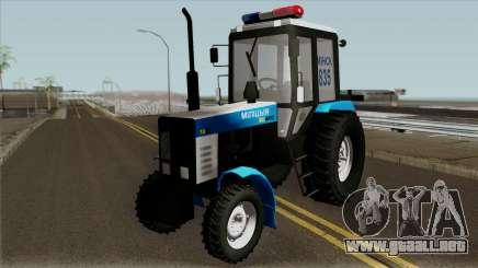 MTZ-80 Belarús de la Policía para GTA San Andreas