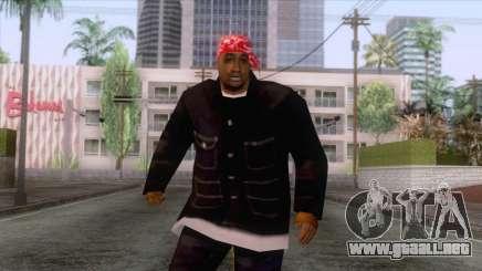 Crips & Bloods Ballas Skin 2 para GTA San Andreas