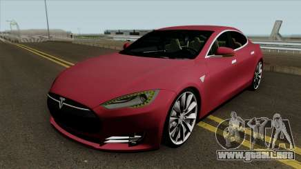 Tesla Model S 2014 v2 para GTA San Andreas