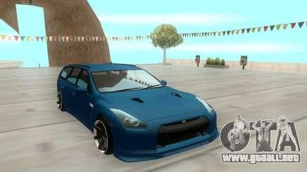 Nissan Stagea M35 para GTA San Andreas