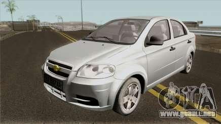 Chevrolet Aveo 2007 v2.0 para GTA San Andreas