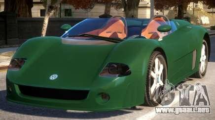 Volkswagen W12 Concept para GTA 4